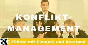 Vorgehens- und Verhaltensweisen zur Konfliktbehandlung