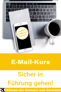 E-Mail-Kurs: Sicher in Führung gehen. In 4 Wochen 8 E-Mails zu Führungsthemen erhalten!