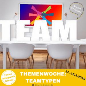 Themenwoche TeamTypen