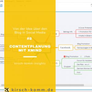 Contentplanung mit XMind
