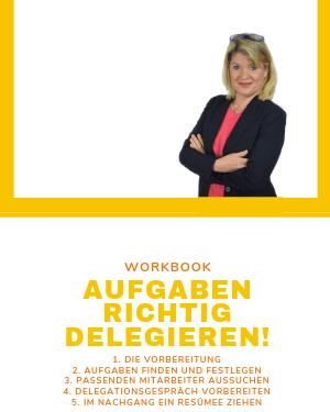 Cover Angebot Workbook-Aufgaben richtig delegieren