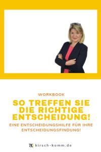 WorkBook So Treffen Sie die richtige Entscheidung