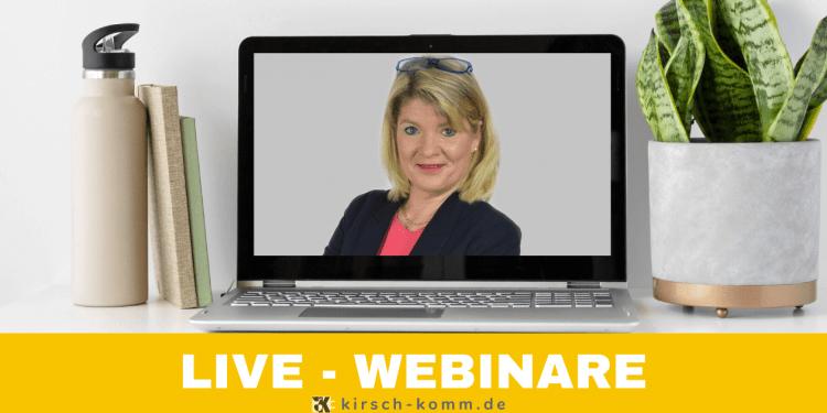 Webinare für Frauen in Führung