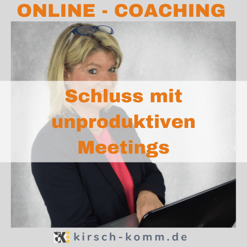 Schluss mit unproduktiven Meetings